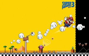 Super Mario Bros 3 wallpaper by Virginsteel