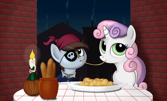 Little Pip's big date by SimeonLeonard