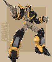 Prowl Animated G1 color by bokuman