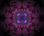 Fractal flower by Hagge