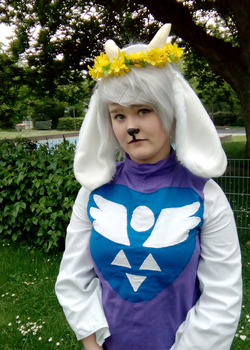 toriel cosplay by Hawk-d-mika
