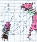 Me vs. Lucy by Hasana-chan