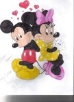 Mickey and Minie by vasqueza93