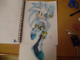Silver The Hedgehog by SonicBornAgain