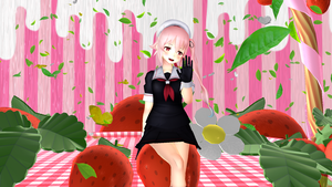 kancolle- Harusame Strawberry milk stage dl by MikuPirate