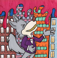 Raised by pedestrian wolves out in the forest by Scurrow