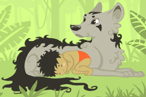Mowgli by Canvascope