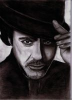 Robert Downey Jr. by xkeijux