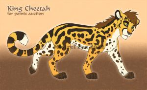 ::Character Auction:: King Cheetah by Mistrel-Fox
