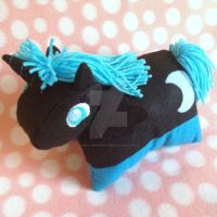 My Little Pony Nightmare Moon Pillow Pet by MadameWario