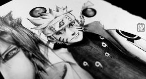 Some Random Naruto Drawing Preview by Iza-nagi