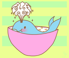Cereal Whale by PiichixChan