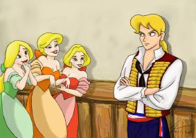 Enjolras and The Bimbettes by Wednesday2021