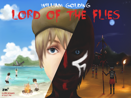Lord of the Flies - Senior School Drama, poster by Greyfaerie4