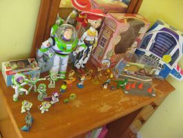 My Toy Story Collection by magictoast15