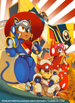 Samurai Pizza Cats by HeavyMetalHanzo