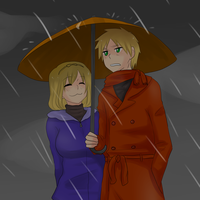 Hetalia - Rainy Countries by megane-no-buta