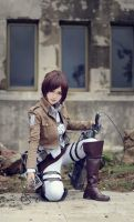 Attack On Titan Sasha Braus Cosplay by Mcosplay