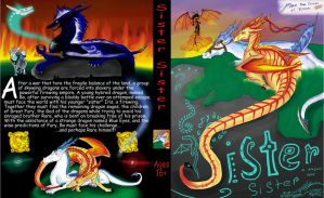 Sister Sister-a Dragon's Tale-NEW! by CrystalCircle