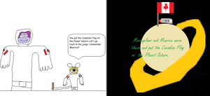 Marsupilami and Maurice in Outerspace by BuddyBoy600