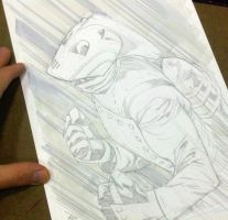 Rocketeer Wondercon sketch by RyanOttley