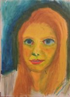 My Darling - Oil Pastels by neveza