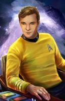 James T. Kirk by TyrineCarver
