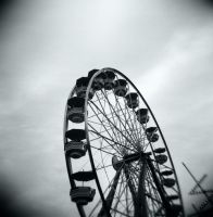 holga farus wheel/lomography by GrayHuskieReborn