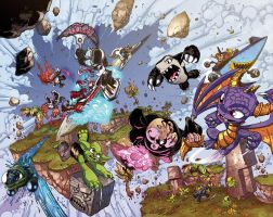 SKYLANDERS Rift into OVERDRIVE by Fico-Ossio