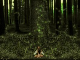 Spirit of the Forest by anglo