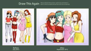 DB GT Girls - draw this again - Contest Entry by PearFlower