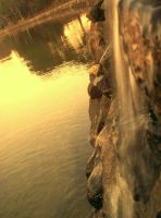 Water Fall by maliz-mathew