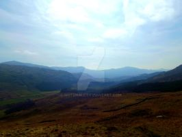 The Top of Hardknott Pass by NotSmall