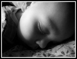 Sleeping Baby by bastherself