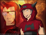 The Handsome Magma Devil by Sapphiresenthiss