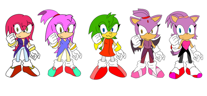 Sonic: Free Adopts Pack 1 [CLOSED] by AutoTFNT979