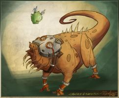 craw-face and the rumpus fly by jouste