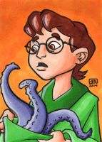 Presto The Magician Sketch Card by TheRigger