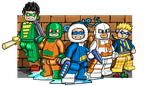Lego Rogues by Pusskyfly