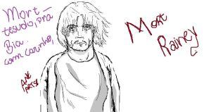 Mort Rainey on Paint by AneRainey