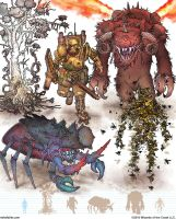 Gamma World Monsters 12 by MikeFaille