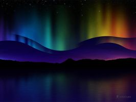 Northern Lights by vladstudio