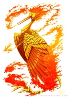 PKM: Moltres Used Fire Spin! by Empyrisan