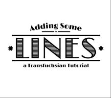 Add Lines inside text with Illustrator by Transfuchsian
