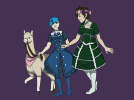 Dresses by loudtalan