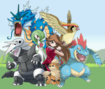 My Pokemon Team by CooltrainerBrooke