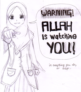 Allah is watching by Shazara94