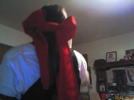 Grell Butler Cosplay Bow 2 by JoeZep5
