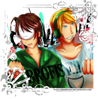 Cry and Pewdiepie brofist by Chiu0Sora