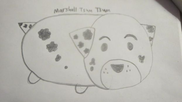 Marshall Tsum Tsum by Codetski101
